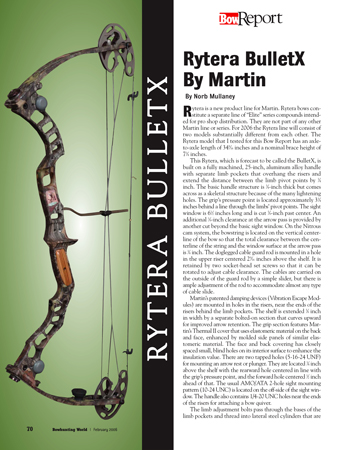 Rytera BulletX by Martin