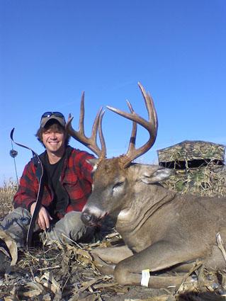hunting deer blind