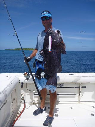 white blotched grouper