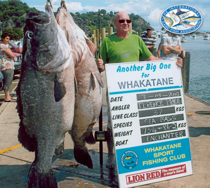 wreckfish world record