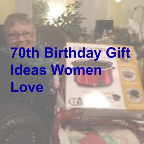 70th Birthday Gift Ideas Women Will Love SaveEnlarge