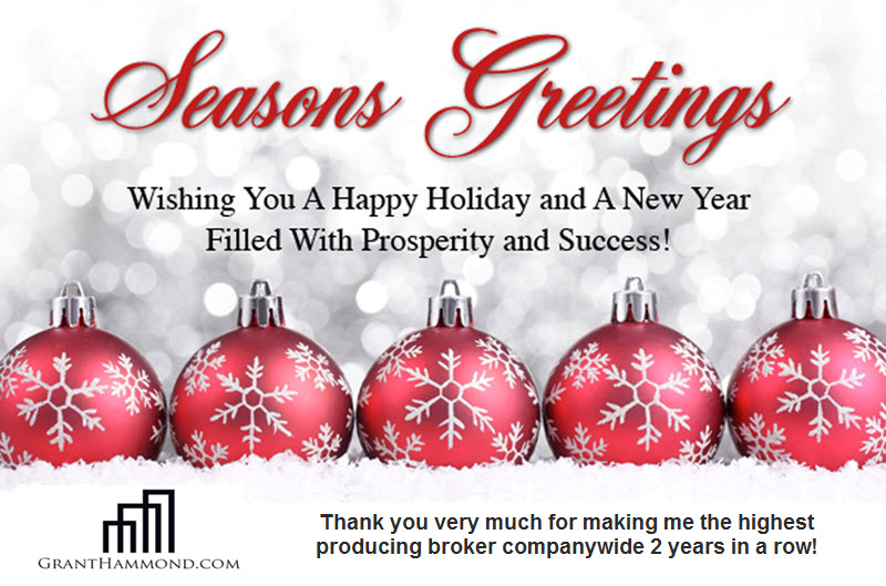 Happy Holidays and Thank You! Nashville Real Estate