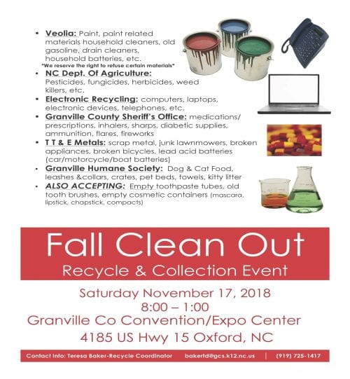 Fall Clean Out\