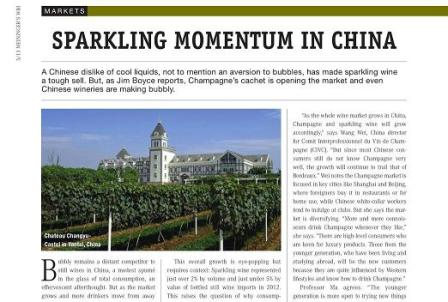 sparkling wine in china wine business international