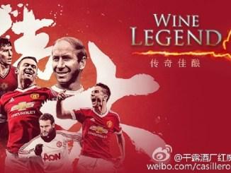Casillero del Diablo Wine Legend Team Manchester United China Tour