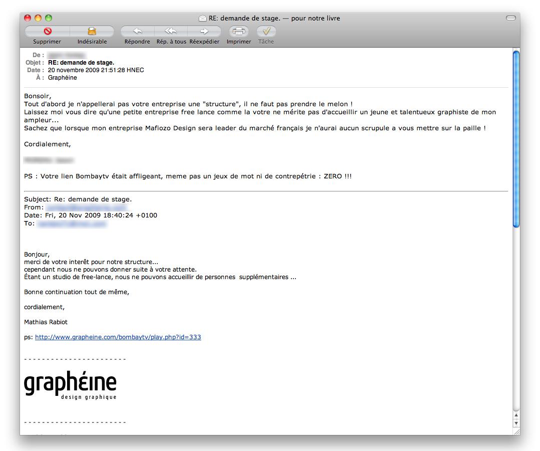 exemple d envoi de cv par mail