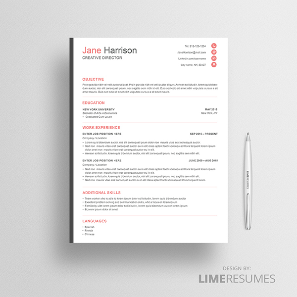 How to Design an Eye-Catching Resume - Graphicadi