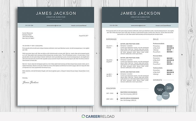 7 Best Free Resume Templates - Graphicadi