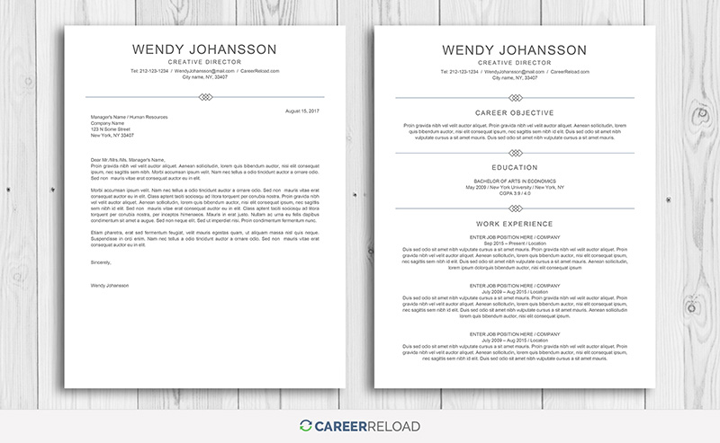 7 Best Free Resume Templates - Graphicadi - best free resume template