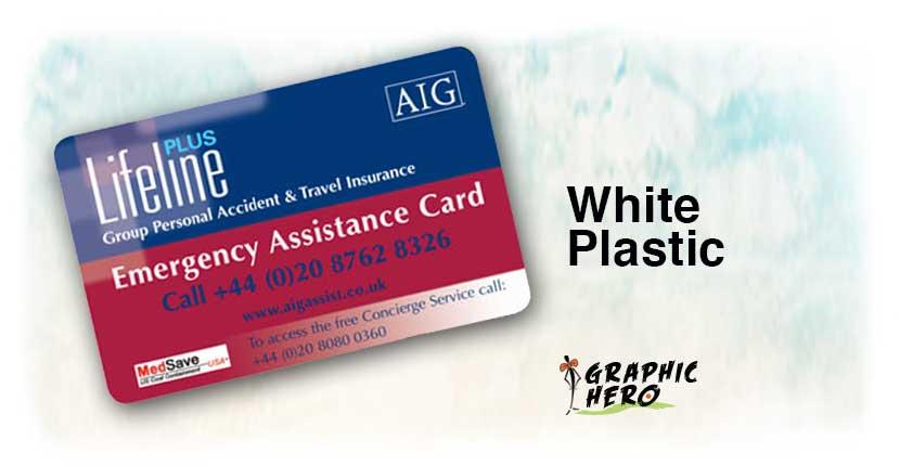 Waterproof Business Cards - Tear Resistant - Weatherproof - Graphic Hero