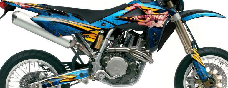 Suzuki Dirt Bike Graphic Kits for RMZ 450, RMZ 250, RM 125, RM 250