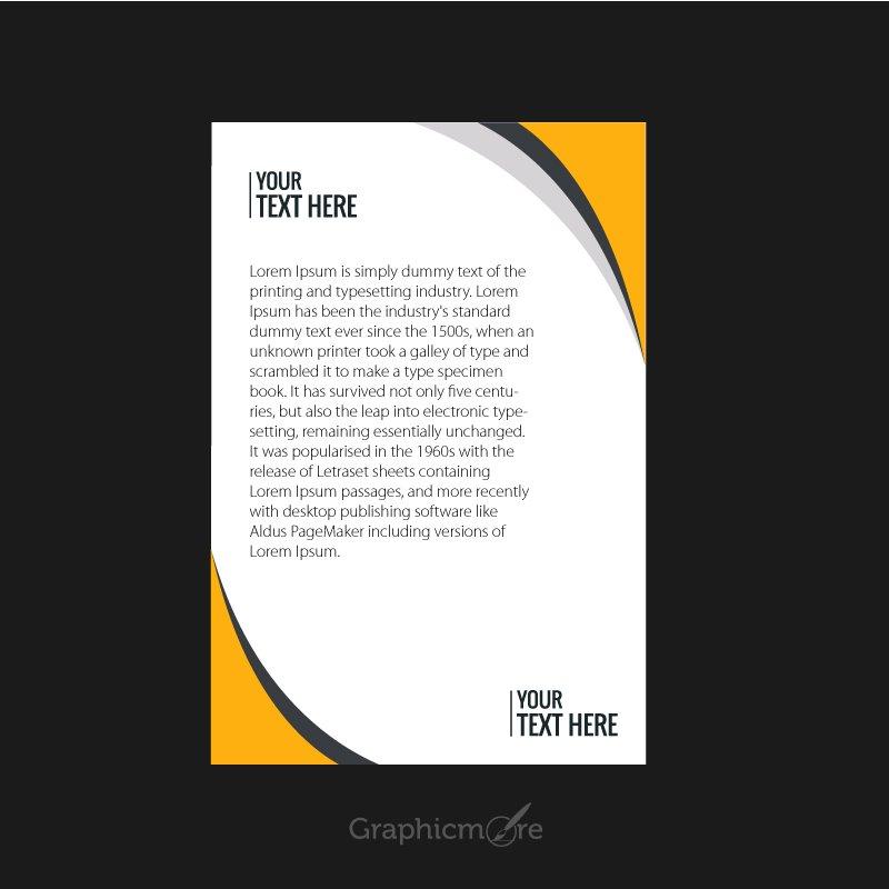 Corporate Letterhead Design Free Vector File Download
