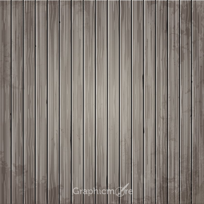 Grey Wooden Board Textures Background Design Free Vector File