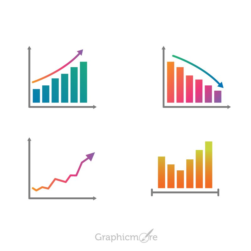 Charts Set Design for Infographic Free Vector File Download