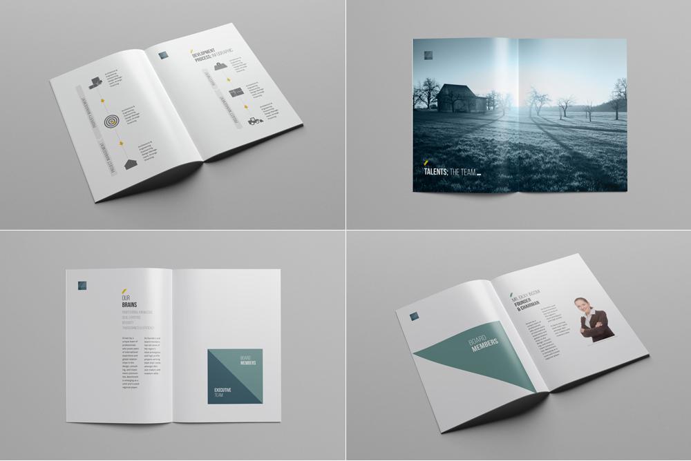 Company Profile Print Template - profile company template