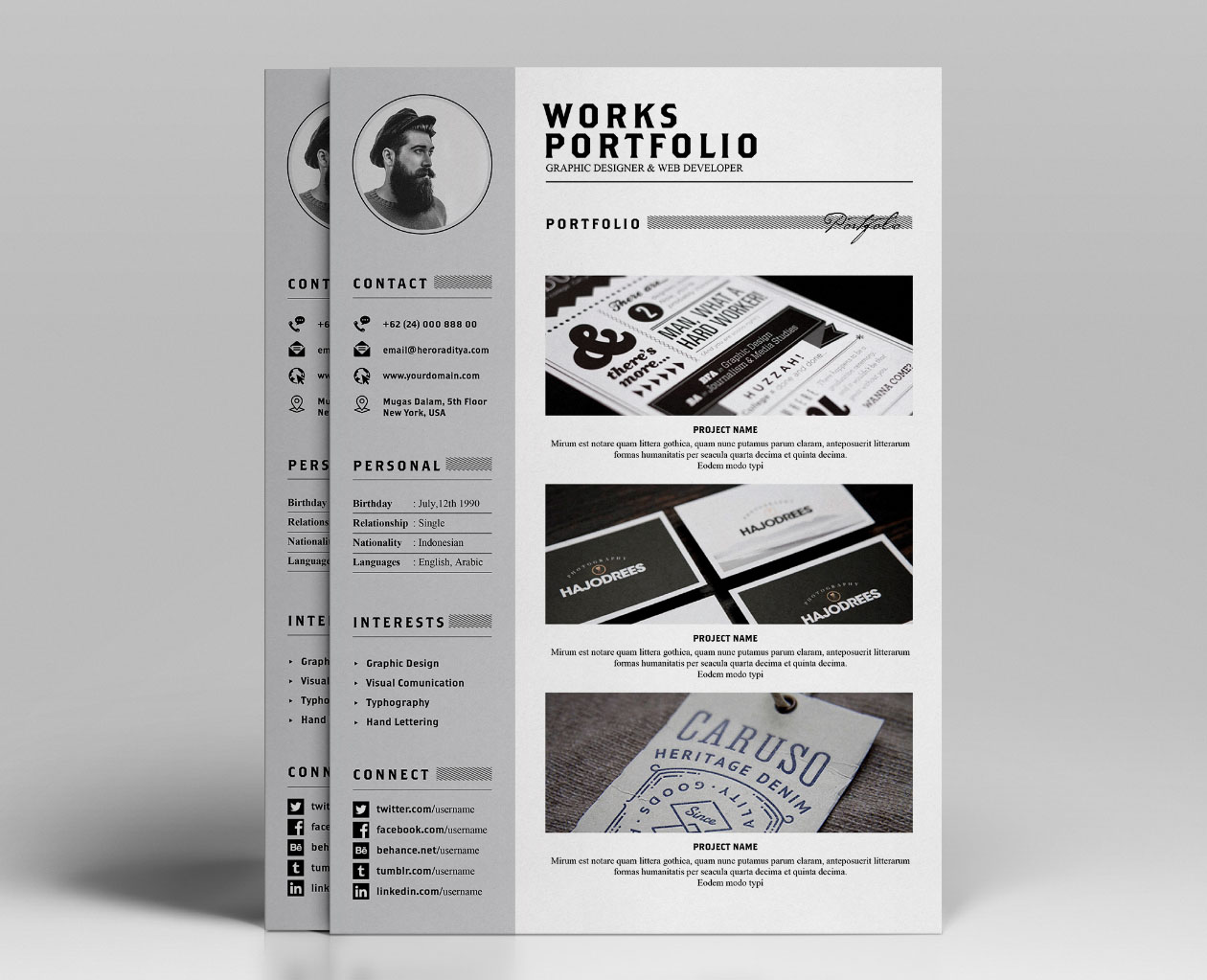 resume template free no download
