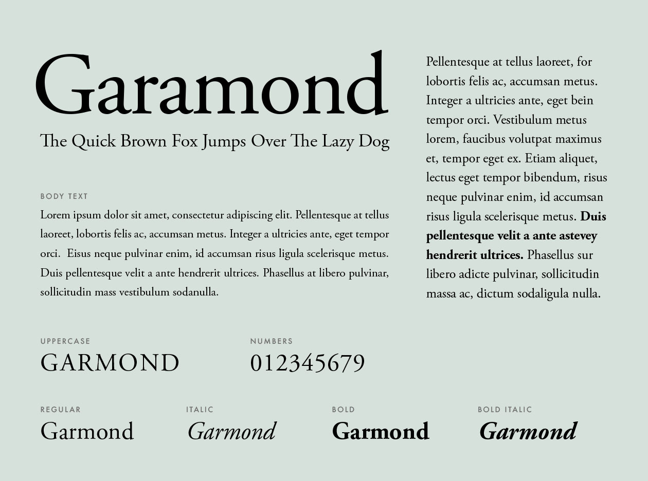 resume font choice