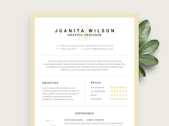 Premium  Free Professional Resume Templates - Resume Te