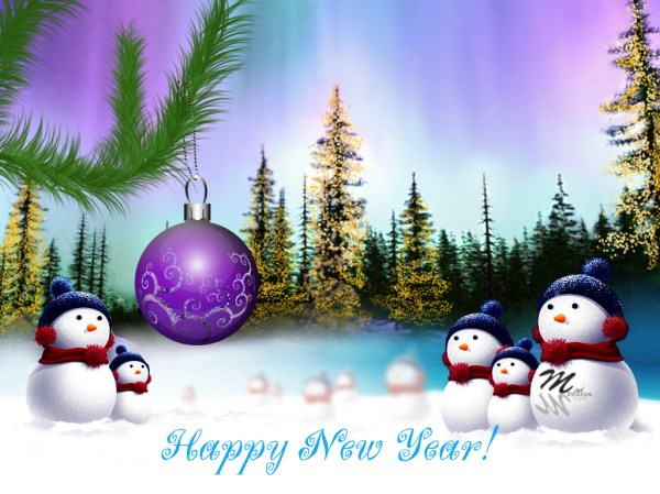 Wonderful Happy New Year Greetings. 1024 x 768.New Year Wishes For Boyfriend Heart Images Love