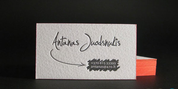 personal business cards designs