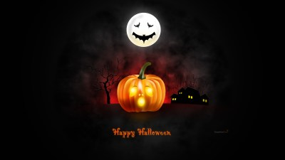 Halloween wallpaper for desktop, iPad & iPhone (PSD & icons included) - GraphicsFuel