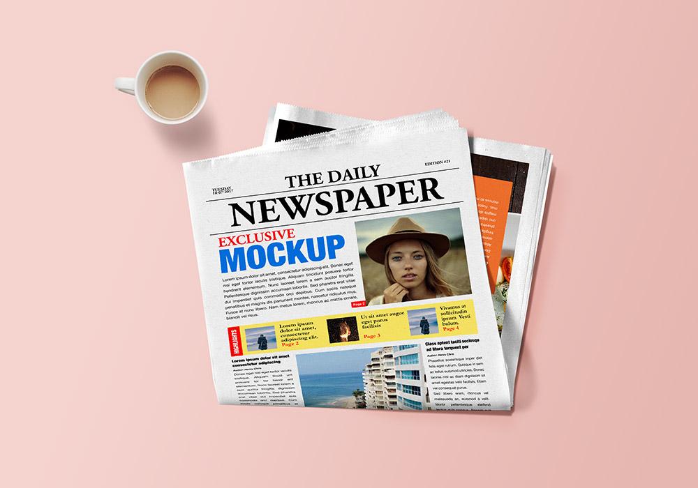 newspaper website template free download