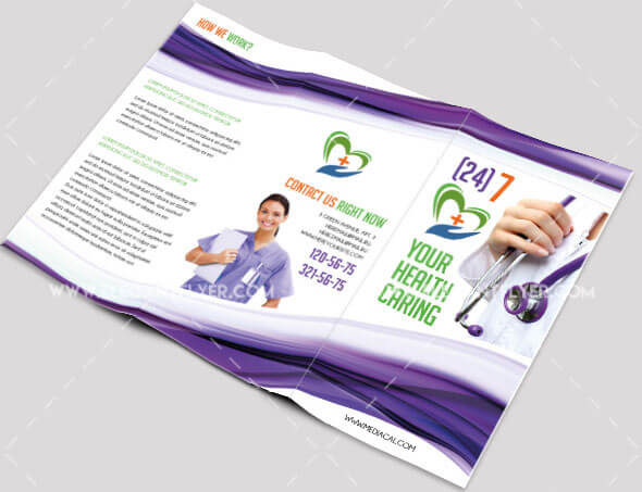 40 Free Professional Tri-fold Brochures for Business - GraphicsFuel - Tri Fold Brochures Free
