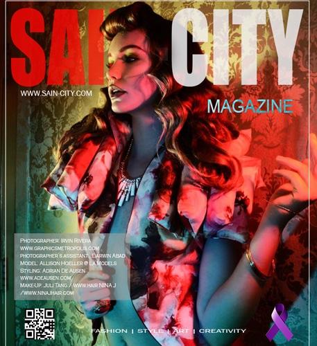 Sain City Cover by Irvin Rivera