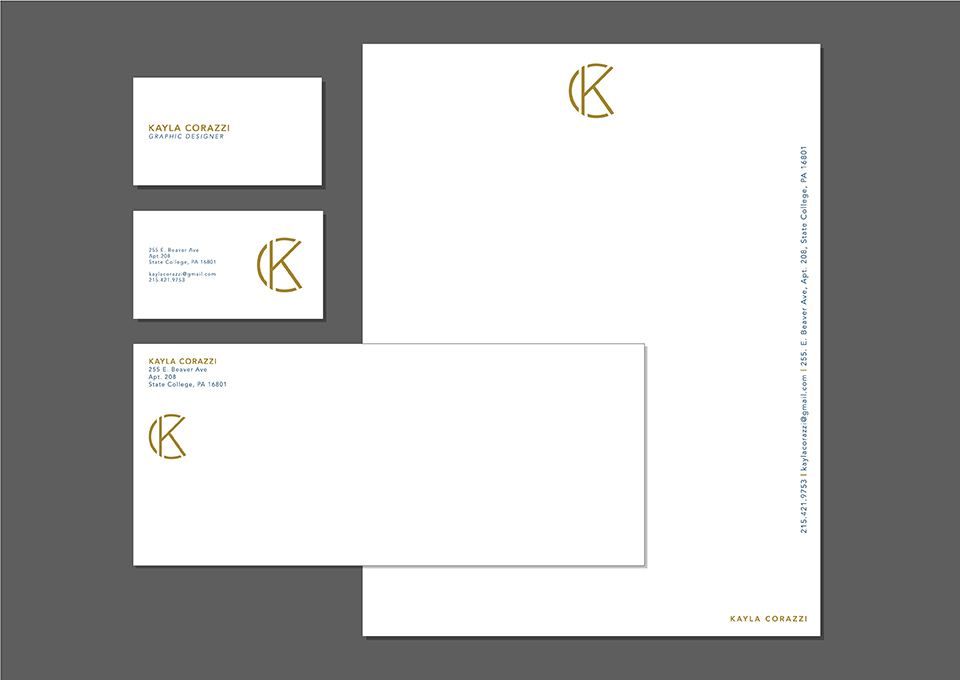 Personal Letterhead - Graphis