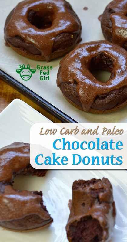 Paleo Chocolate Cake Doughnuts
