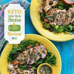 Rousing Quality I Was So Excited To Review A New Meal Service Company Called Green Chef Andi Was Very Impressed My S Was Keto Low Carb Salsa Verde Ken Recipe One