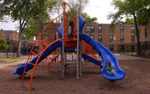 New Playground Finished