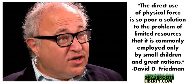 david friedman, statism, government, liberty, freedom