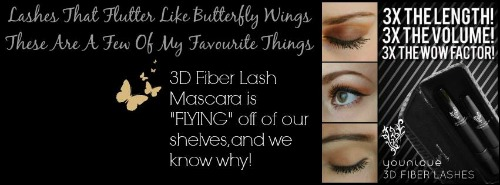 lashes that flutter like butterfly WEB wings