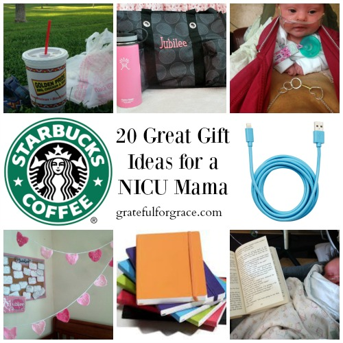 20 Great Gift Ideas for a NICU Mama WEB