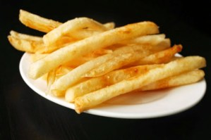 Perfect Thin Crispy Fries