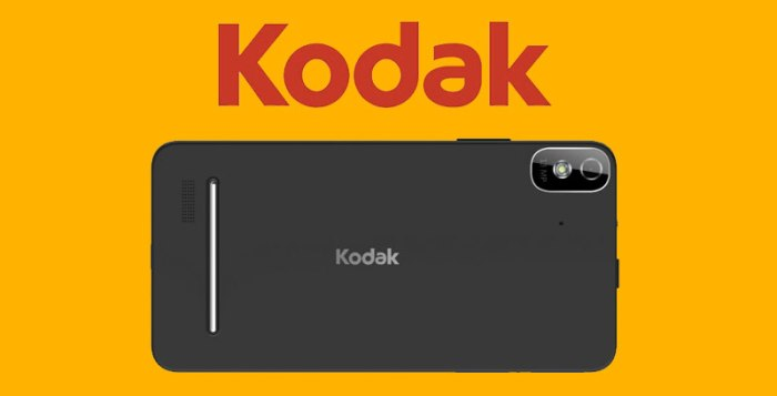 Kodak IM5 smarphone