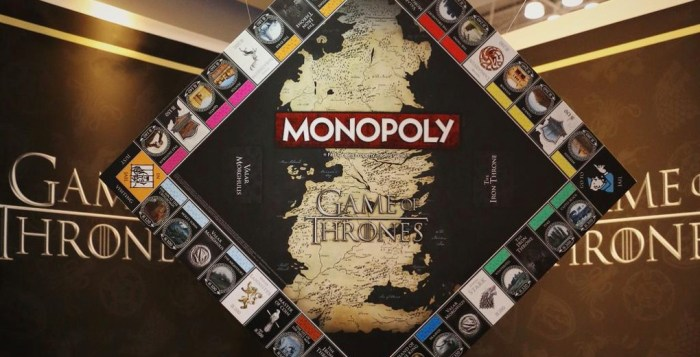 Game of Thrones Monopoly now exists. Free parking, Tyrion? (photo: HBO)