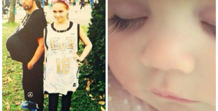 Jay Chou and Hannah Quinlivan welcome their first born