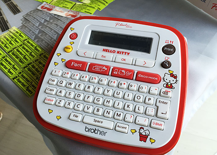 Hello Kitty p-Touch D200