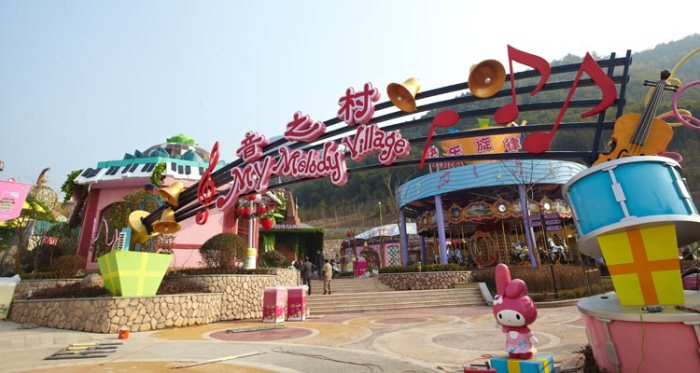Hello Kitty theme park in China
