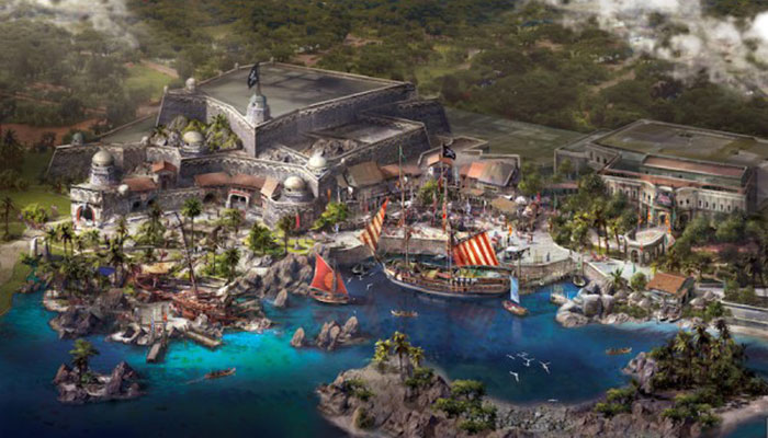 Treasure Cove at Shanghai Disneyland