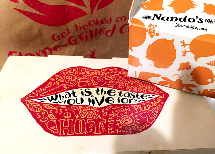 Nando's at City Square Mall basement 1