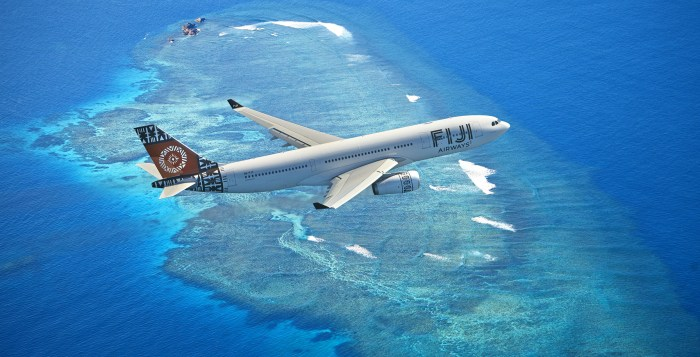 Fiji Airways comes to Singapore (photo: Google Images)
