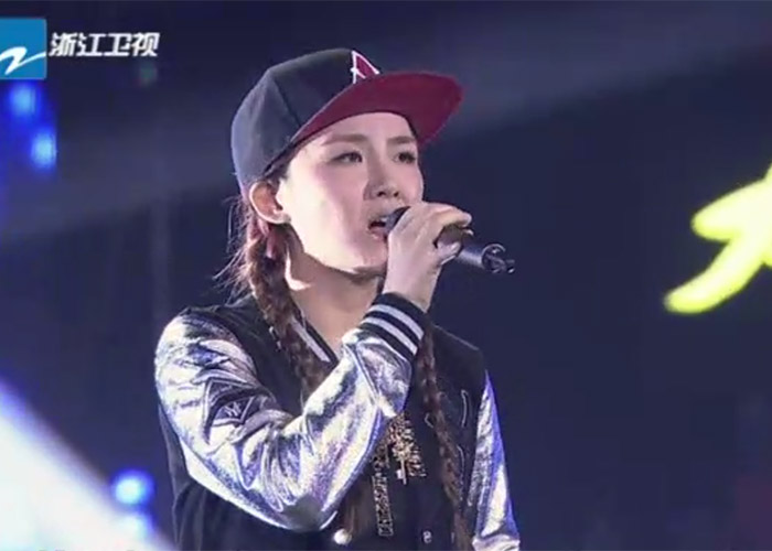 Chen Zi Tong in The Voice of China 4 Episode 12