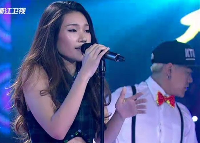 Zhao Da Ge in The Voice of China 4 Episode 12