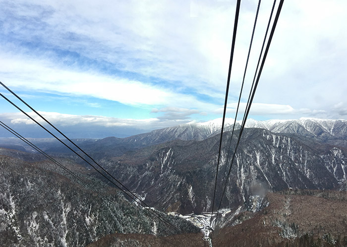View from Sounkyo ropeway