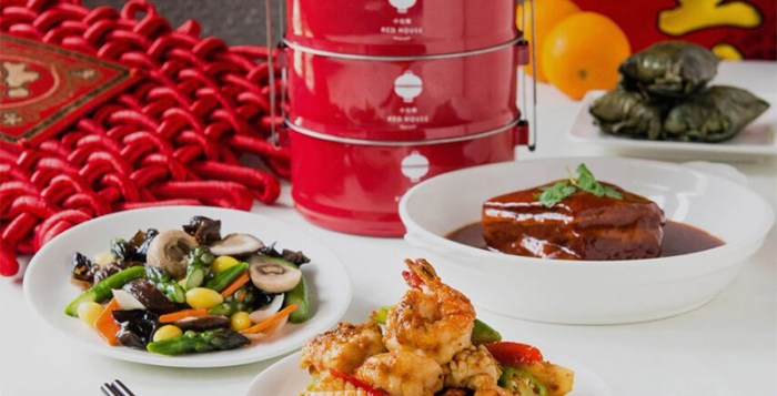 Red House Seafood tiffin set for 6 at S$188