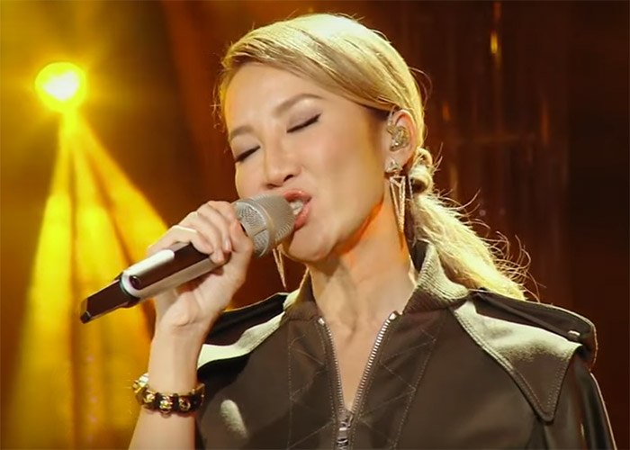 Coco Lee in I Am A Singer 4 Round 4