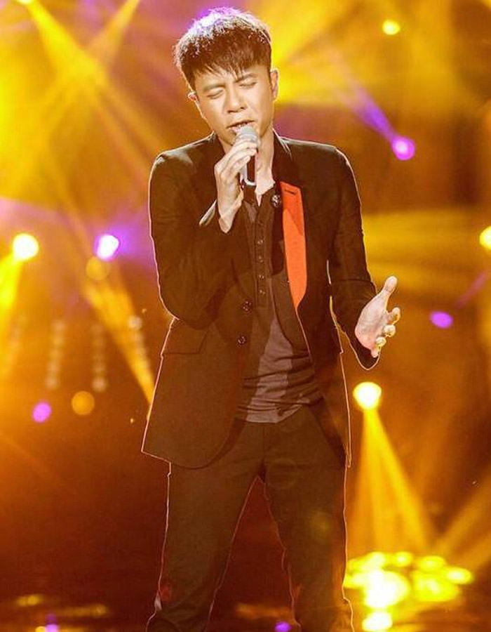 Hacken Lee in I Am A Singer 4 Round 6